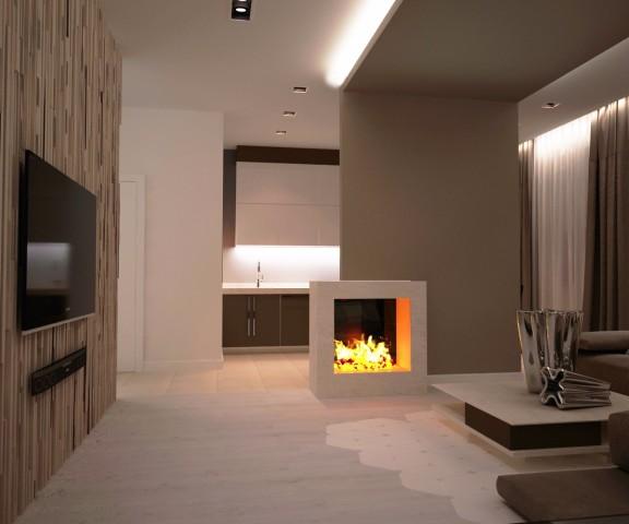 Дизайн интерьера гостиной - 5