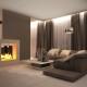 Дизайн интерьера гостиной - 4