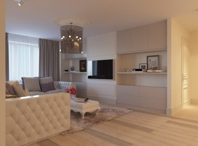 Дизайн интерьера гостиной - 12