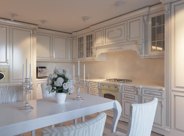 Дизайн интерьера кухни - 3