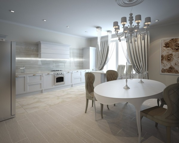 Дизайн интерьера кухни - 8