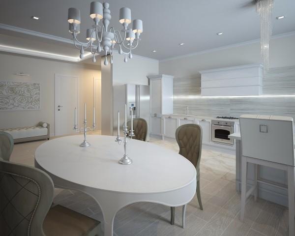 Дизайн интерьера кухни - 9