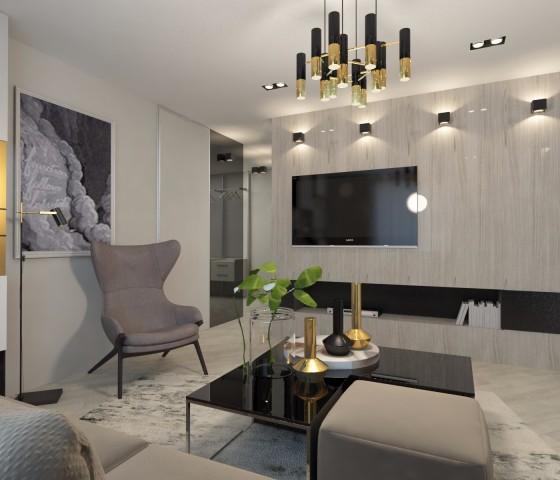 Дизайн интерьера гостиной - 6