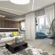 Дизайн интерьера гостиной - 21