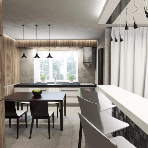 Дизайн интерьера кухни - 11
