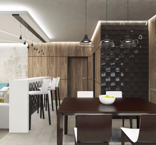 Дизайн интерьера кухни - 12
