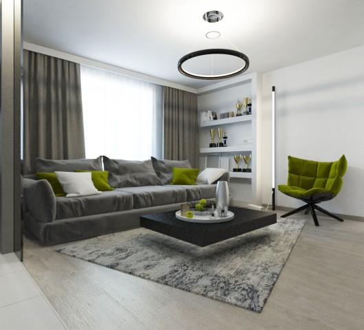 Дизайн интерьера гостиной - 7