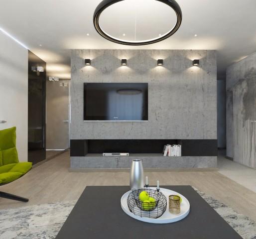 Дизайн интерьера гостиной - 8