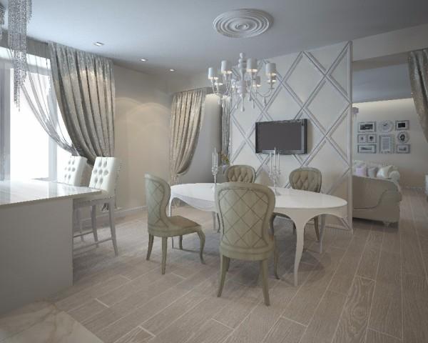 Дизайн интерьера гостиной - 24