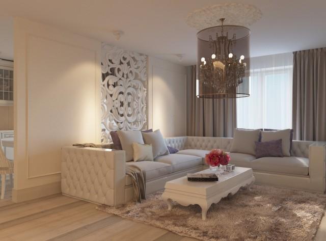 Дизайн интерьера гостиной - 13