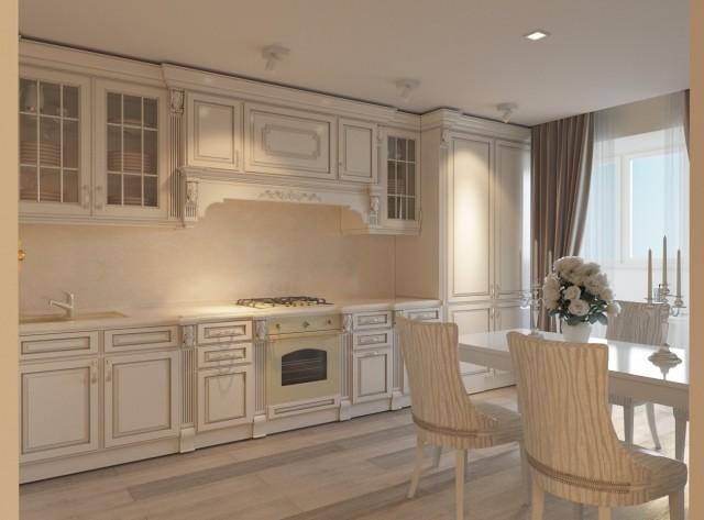 Дизайн интерьера кухни - 7