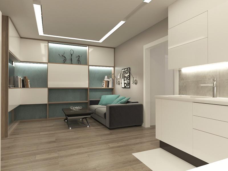 Дизайн гостиной в Солотче