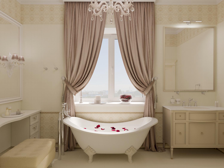 Ванная комната в частном доме на ул.Островского